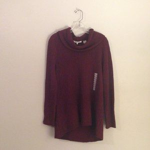 Eight Eight Eight Turtleneck Long Sweater Sz L NWT